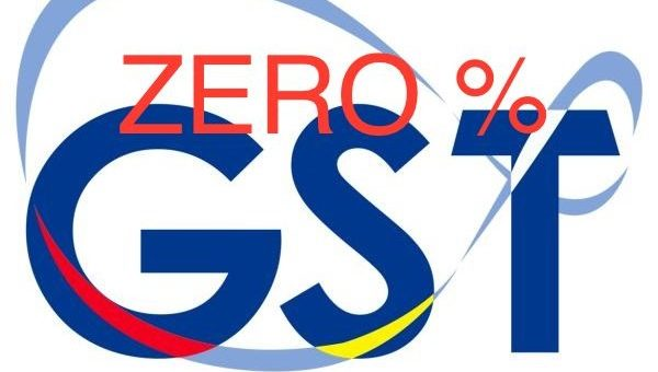 Good News for GST 0%