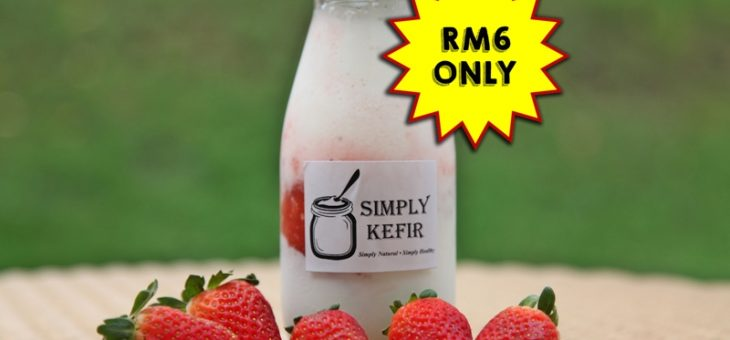 SUMMER STRAWBERRY KEFIR PROMOTION